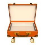 Apra la parte anteriore classica dei bagagli Immagine Stock Libera da Diritti