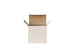 Apra la scatola di cartone. Immagine Stock Libera da Diritti
