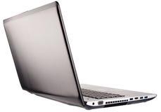 Apra la vista isometrica posteriore del computer portatile Fotografia Stock Libera da Diritti