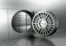 Apra la volta di banca Fotografia Stock Libera da Diritti
