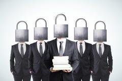 Apra la vostra mente con il concetto di conoscenza Fotografia Stock Libera da Diritti