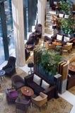 Apra la zona di ricezione dell'hotel Immagini Stock