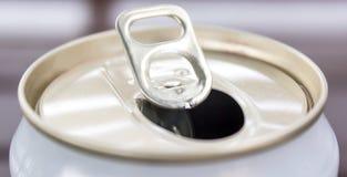 Apra le latte di alluminio Fotografia Stock Libera da Diritti