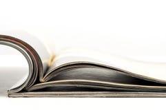 Apra le pagine del magazin Immagine Stock Libera da Diritti