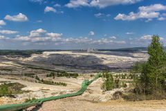 Apra Pit Mine Immagine Stock