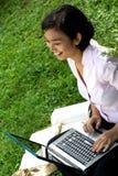 Apreciação de trabalho - escritório ao ar livre fotos de stock