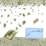 Apreciação do dólar Fotografia de Stock Royalty Free