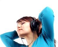 Apreciando a música #12 imagem de stock royalty free