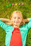 Apreciando o tempo de verão Foto de Stock Royalty Free