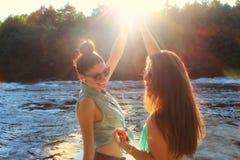 Apreciando o verão imagens de stock