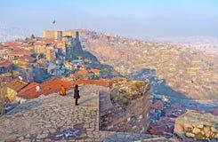 Aprecie a arquitetura da cidade de Ancara Fotos de Stock Royalty Free