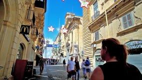 Aprecie a caminhada em Valletta, Malta filme