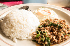Aprecie o alimento em Tailândia Imagens de Stock
