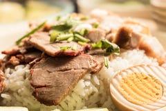 Aprecie o alimento em Tailândia Foto de Stock