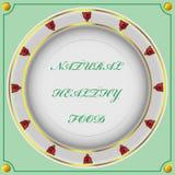 Aprecie suas refeição e boa sorte Fotos de Stock Royalty Free