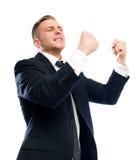 Apreenda o dia na vitória. Imagem de Stock Royalty Free