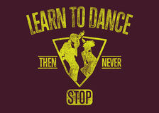 Aprenda dançar Fotos de Stock