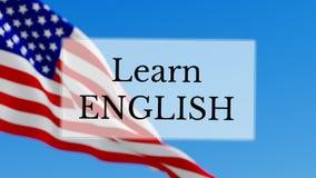 Aprenda el inglés almacen de metraje de vídeo