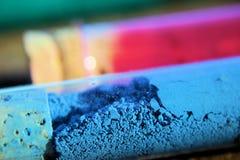 Aprenda pintar y mezclar colores Imagen de archivo libre de regalías
