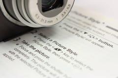 Aprenda sua câmera Foto de Stock