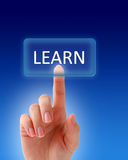 Aprenda a tecla. Imagem de Stock Royalty Free