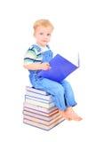 Aprendendo como ler Foto de Stock Royalty Free