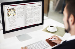 Aprendendo o conceito da tecnologia da eletrônica da educação imagens de stock