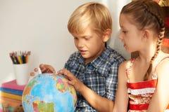 Aprendendo países Foto de Stock Royalty Free
