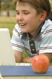 Aprender pode ser divertimento Imagem de Stock Royalty Free