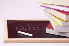 Aprendizagem do alfabeto Foto de Stock