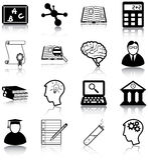Aprendizagem e conhecimento ilustração stock