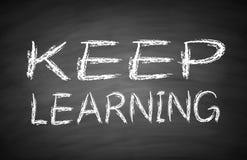 Aprendizagem Keep Foto de Stock Royalty Free