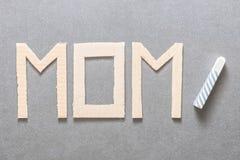 Aprendizagem ser uma mamã foto de stock