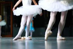 Aprendizaje bailar 7 Fotos de archivo