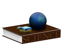Aprendizaje de ciencia Imagen de archivo