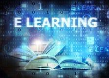 Aprendizaje de E Imagen de archivo