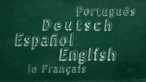 Aprendizaje de idiomas extranjeros libre illustration