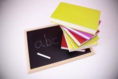Aprendizaje del alfabeto Imágenes de archivo libres de regalías