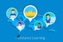 Aprendizaje a distancia Fotos de archivo
