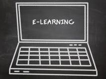 Aprendizaje electrónico Fotografía de archivo libre de regalías