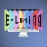 Aprendizaje electrónico imagen de archivo