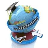 Aprendizaje electrónico stock de ilustración