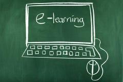 Aprendizaje electrónico fotos de archivo