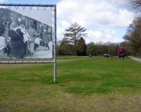 Aprendizaje sobre el holocausto Foto de archivo