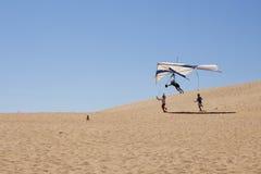 Aprendizaje volar Fotos de archivo libres de regalías