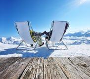 apres σκι βουνών Στοκ φωτογραφία με δικαίωμα ελεύθερης χρήσης