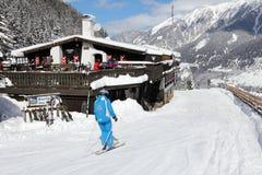 apres σκι Στοκ Εικόνες