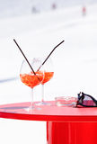 Apres Ski cocktail Stock Photography