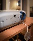 Apresentação com projetor do lcd Fotografia de Stock
