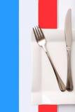 Apresentação da gastronomia francesa Fotos de Stock Royalty Free